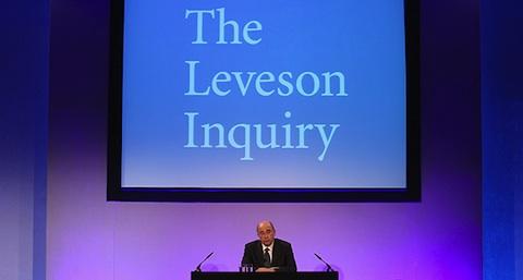 leveson press conference