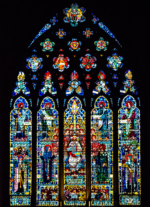 etheldreda east window