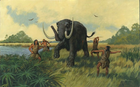 mammoth-hunt-Old-Vero-Man-site