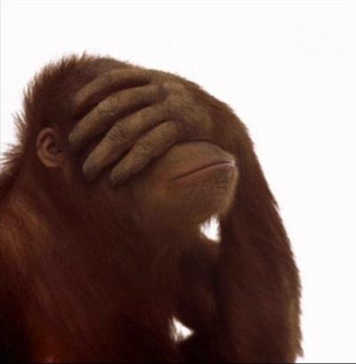 blind ape