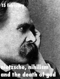 """nietzsche nihilism and the death Commentary and archival information about friedrich nietzsche from  his recognition of the """"death of god"""" and  nihilism stands at the door, wrote nietzsche."""