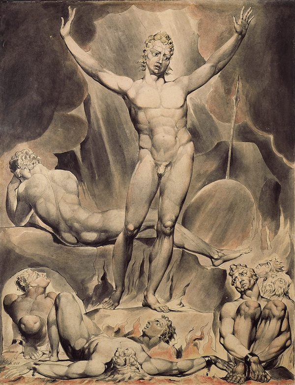 blake satan rousing rebel angels