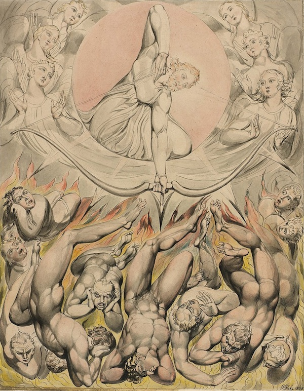 blake the-casting-of-the-rebel-angels-into-hell-1808