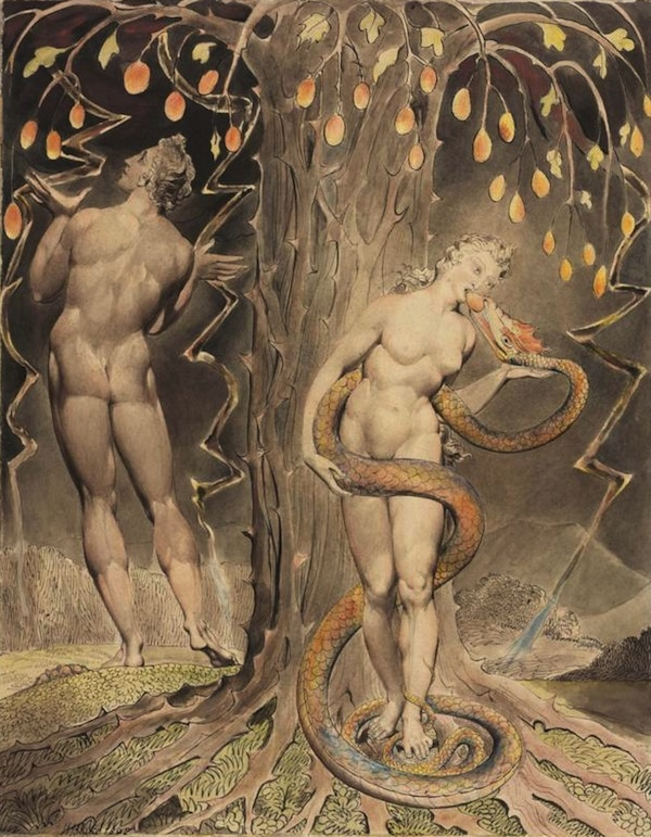 blake the-temptation-and-fall-of-eve-1808