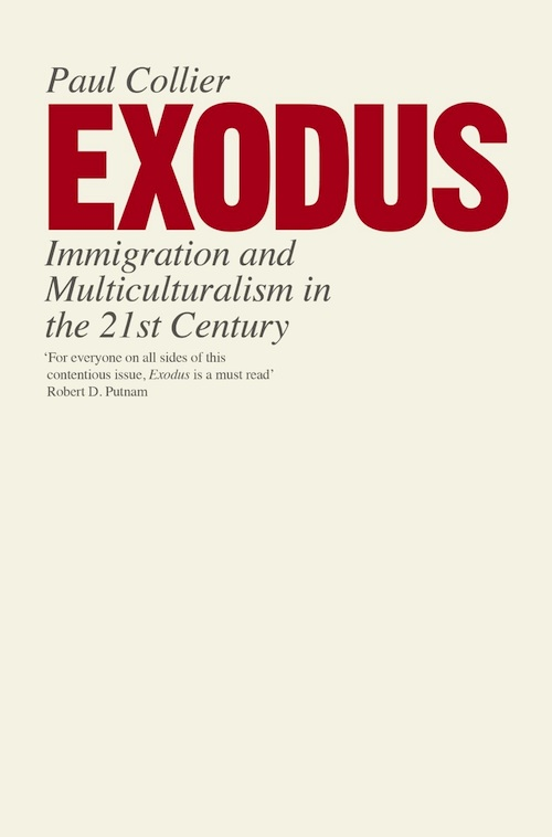paul collier exodus cover