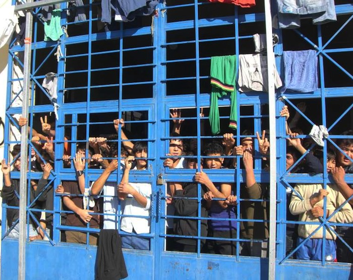 exodus greek prison