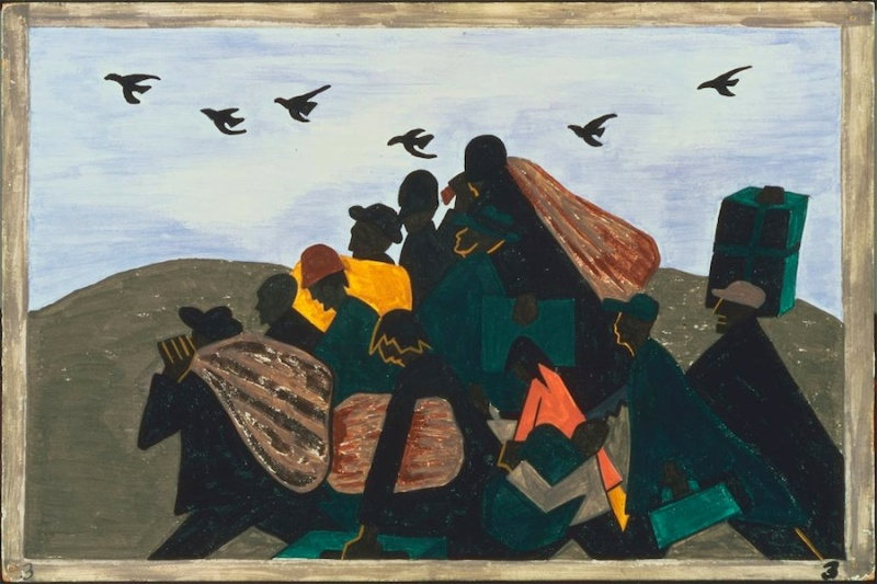 jacob lawrence great migration pan3