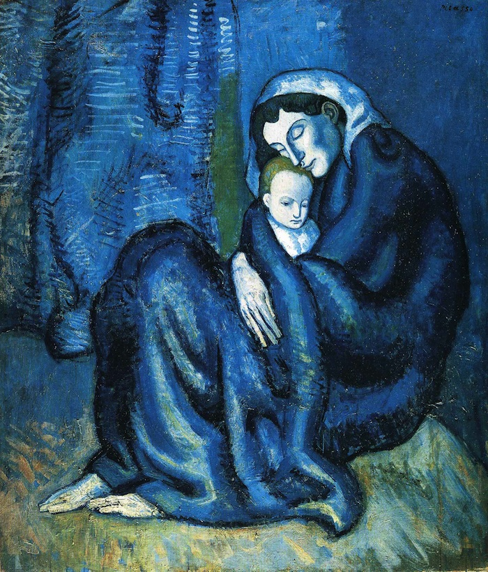 picasso mother and child 1902