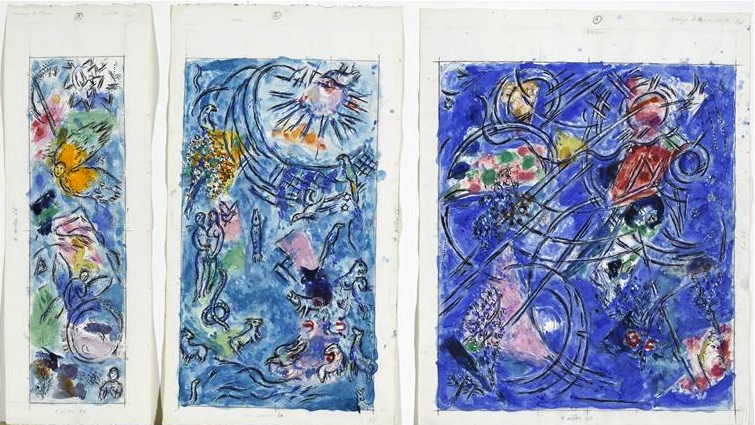 chagall creation du monde 1971