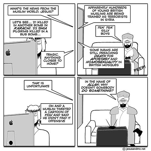 j&m cartoon