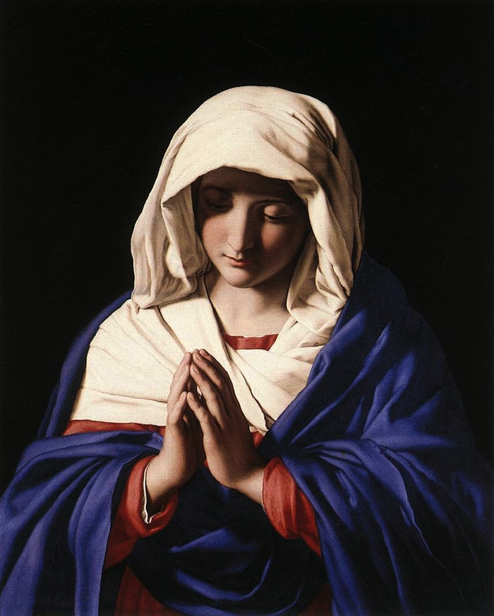 mary praying