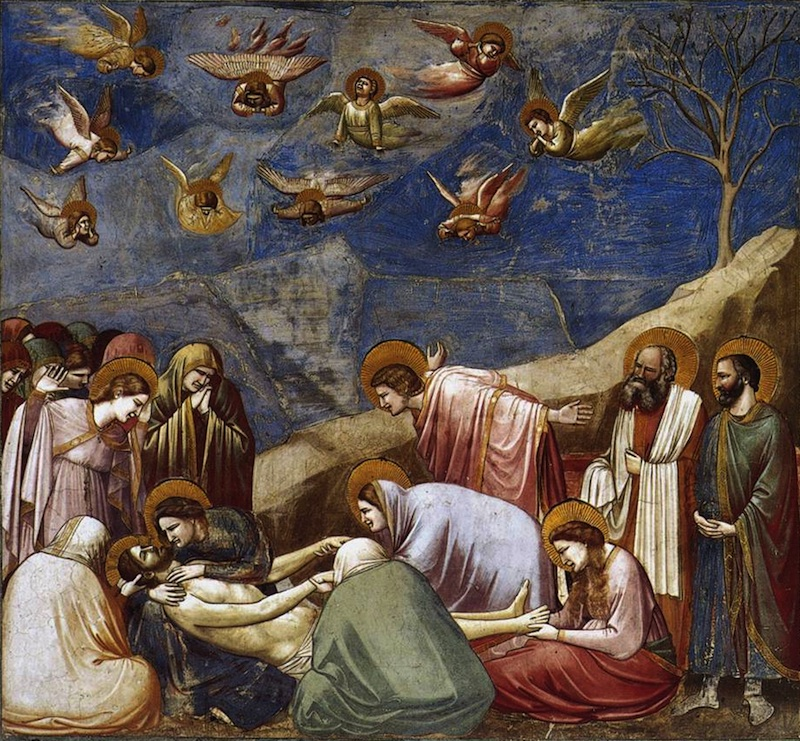Giotto Lamentation (The Mourning of Christ)