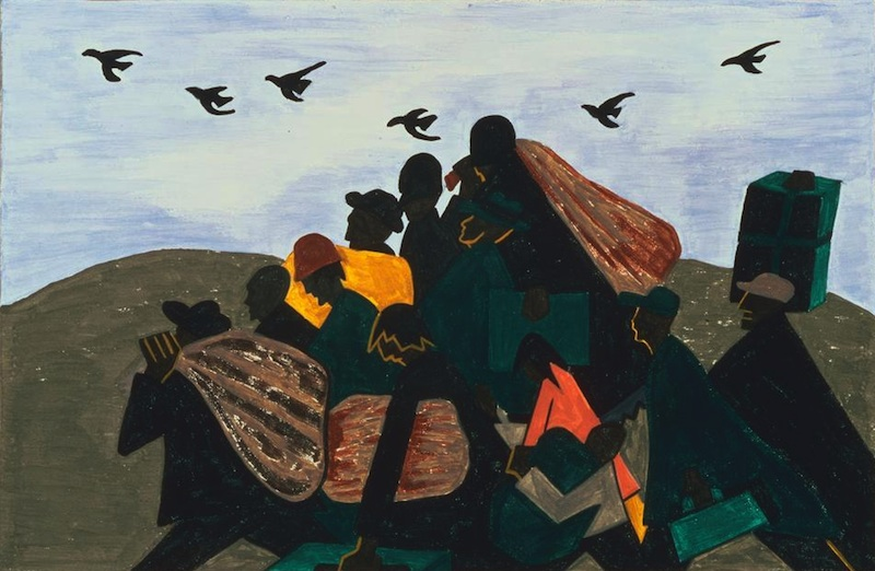 jacob lawrence migration panel 3