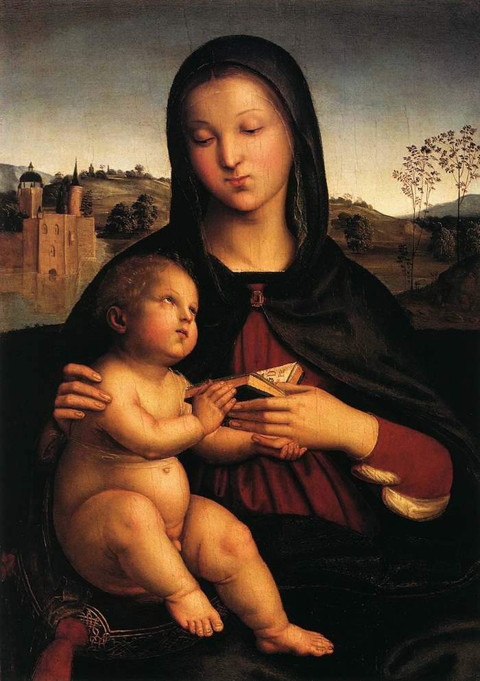 Raphael Madonna and child