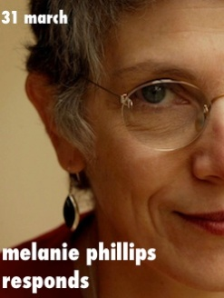 melanie phillips responds