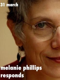 melanie phillips responds