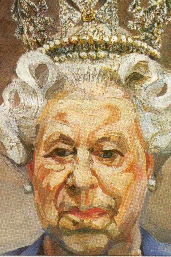 queen lucian freud