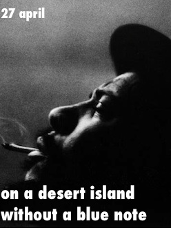 desert island without a blue note