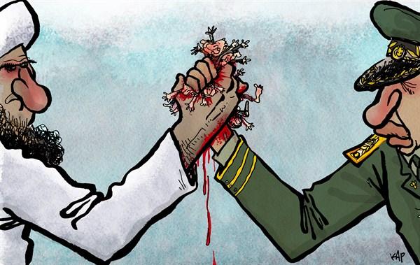morsi cartoon
