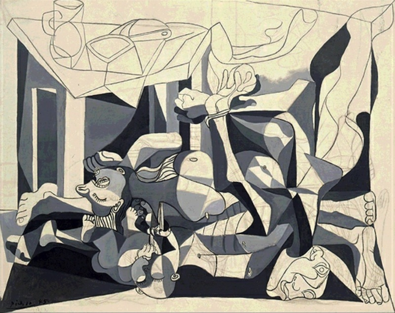 picasso charnel house