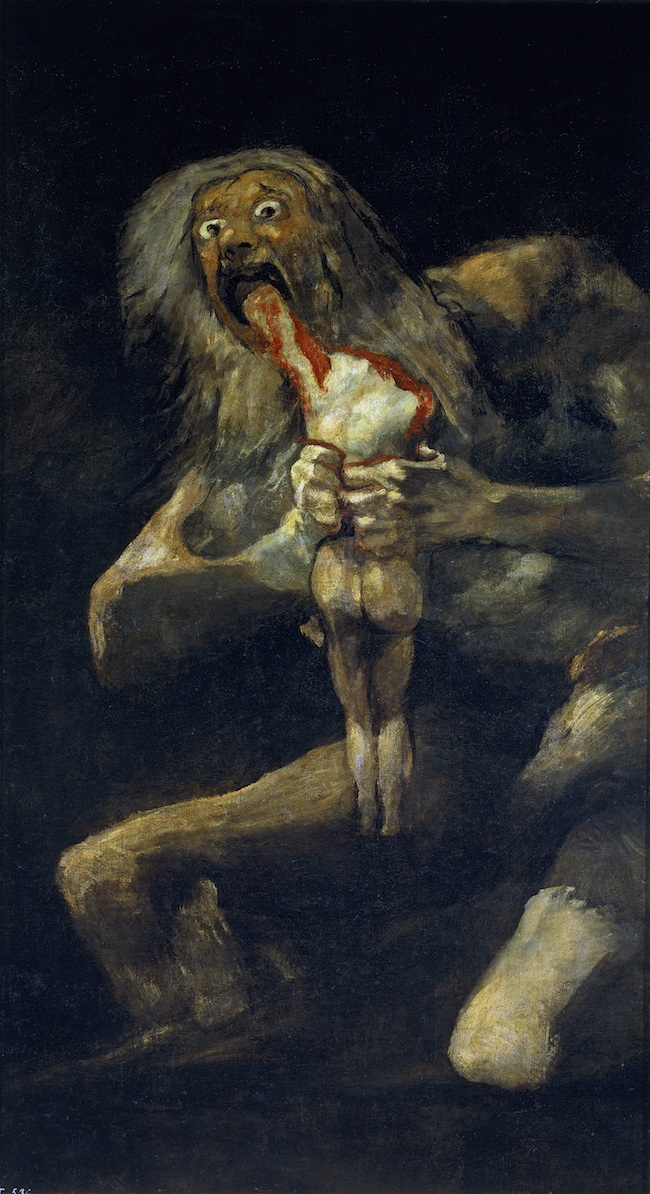 goya saturn devouring son