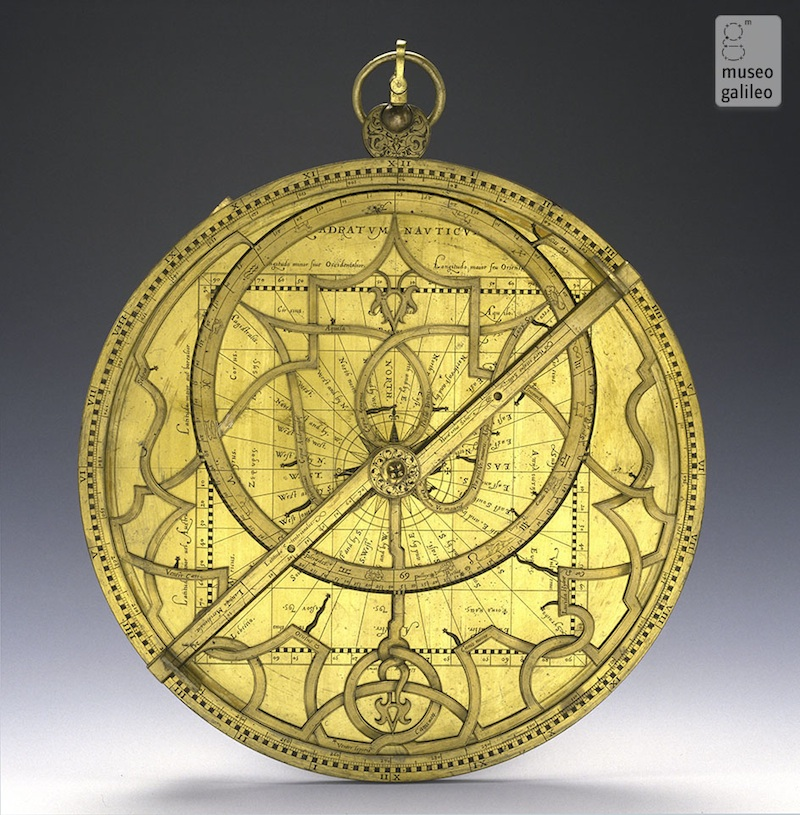 museo galileo astrolabe
