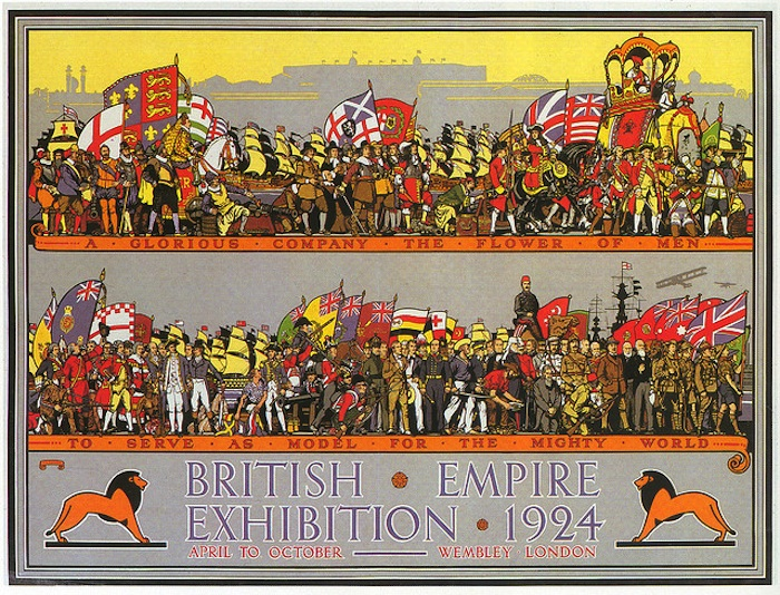 british empire exhibition poster