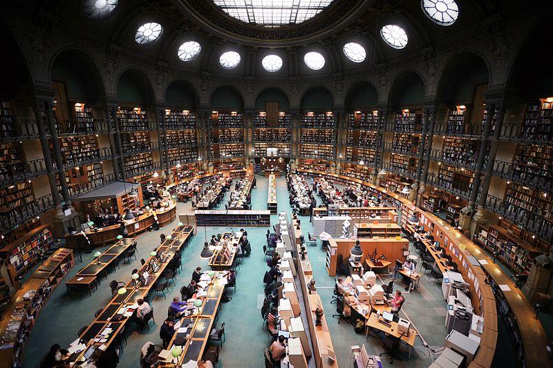 library bibliothèque nationale richelieu