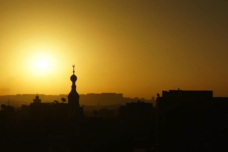 mosque minaret aswan