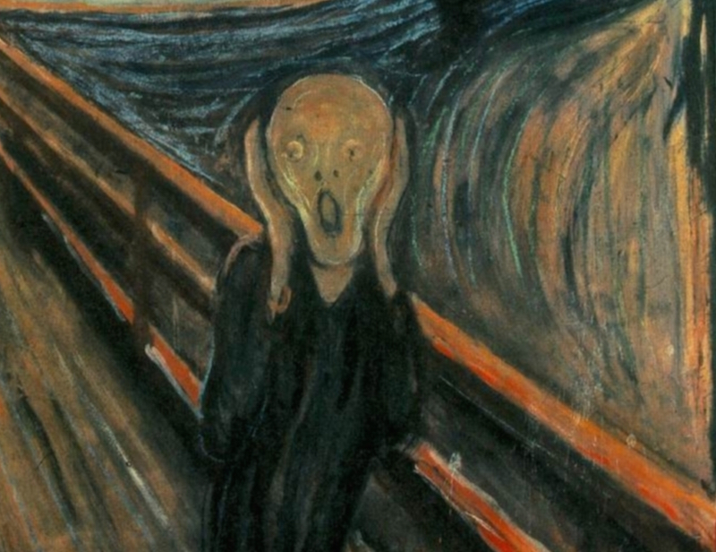 munch scream detail