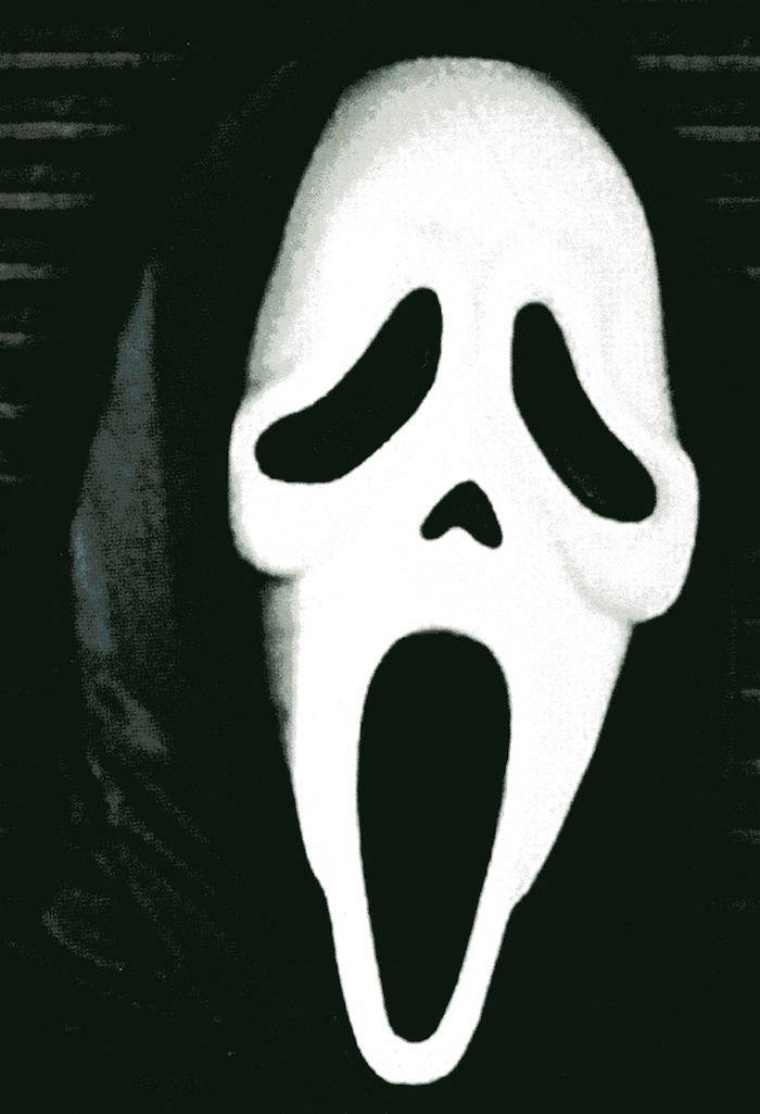 scream poster detail