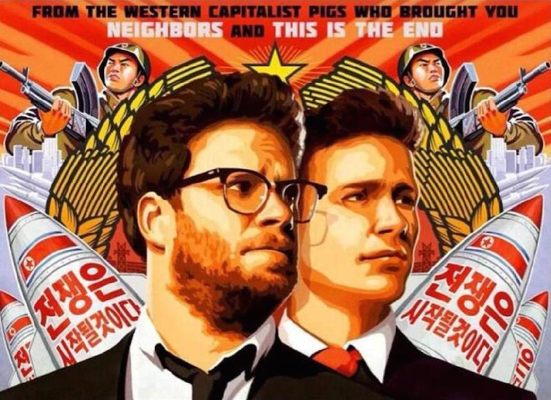sony the interview poster
