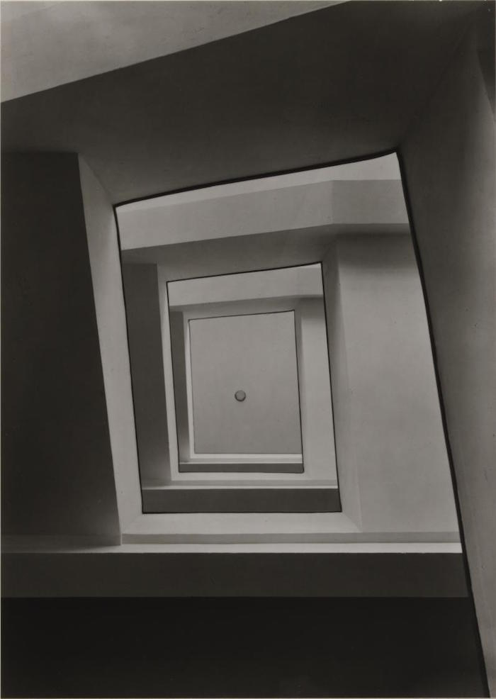 Staircase Ursuliner Lyzeum, Cologne 1928 1928, printed 1977 by Werner Mantz 1901-1983