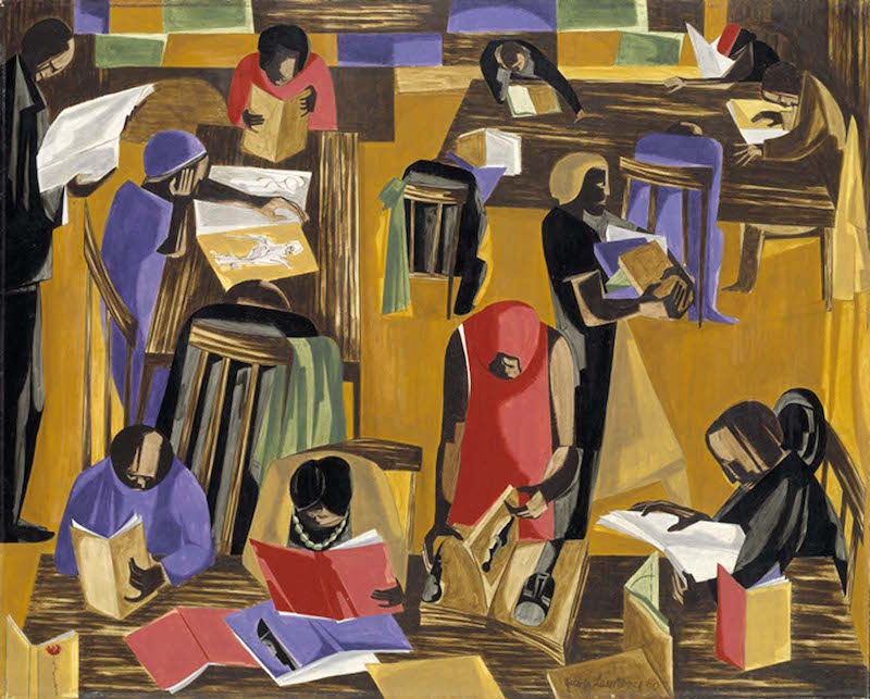 jacob lawrence library 2