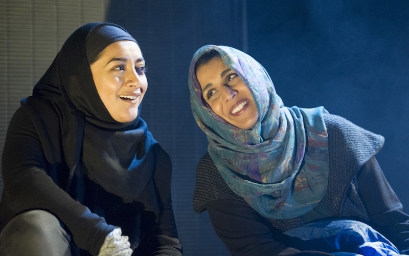 'Multitudes' Play by John Hollingworth performed at the Tricycle Theatre, London, UK