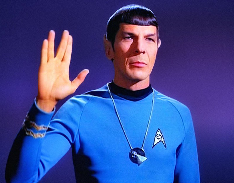 Spock live long and prosper