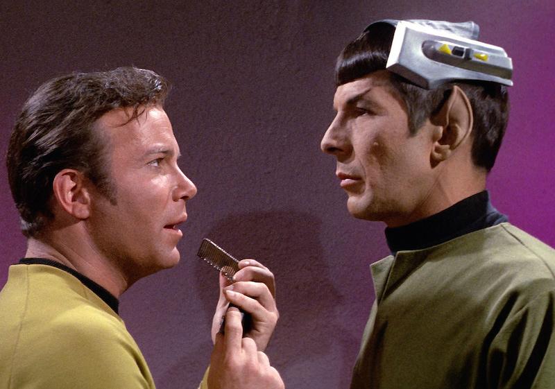 Star Trek Spock Kirk