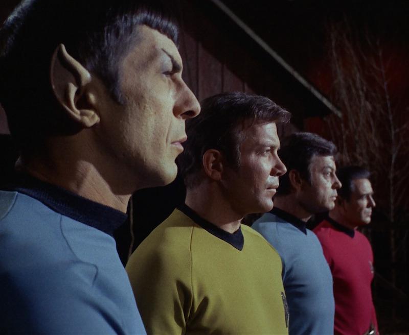 Ttar Trek original Spock Kirk Bones Scotty