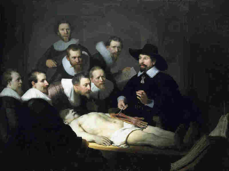 rembrandt anatomy lesson