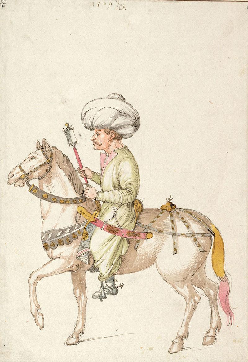 durer ottoman rider