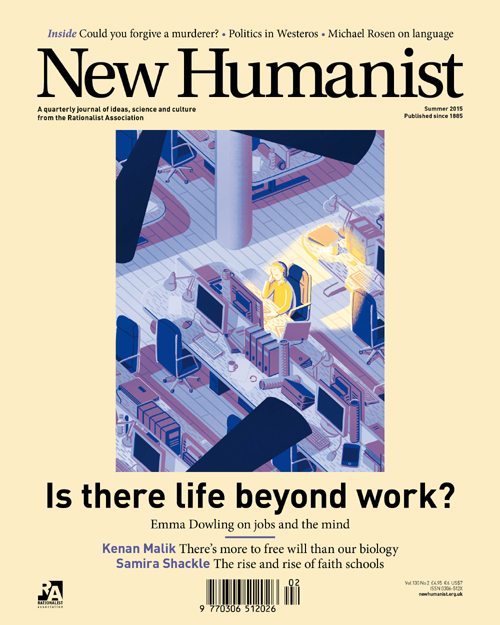 New humanist summer 2015 cover