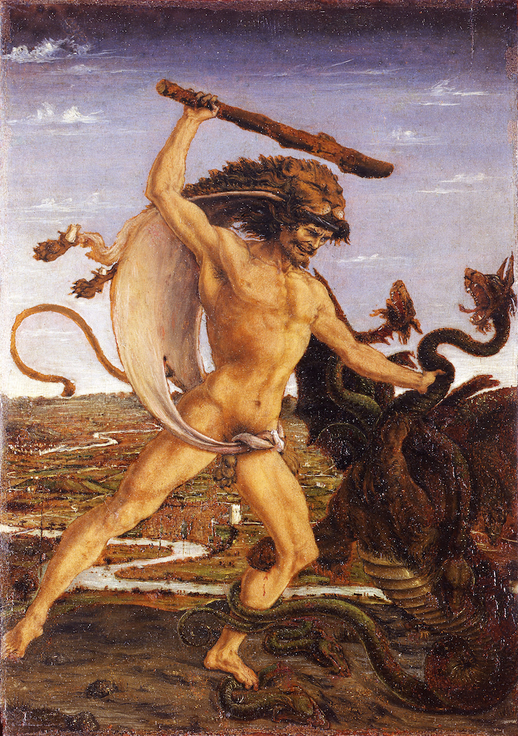 pollaiolo hercules and the hydra