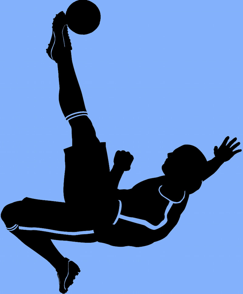 overhead kick