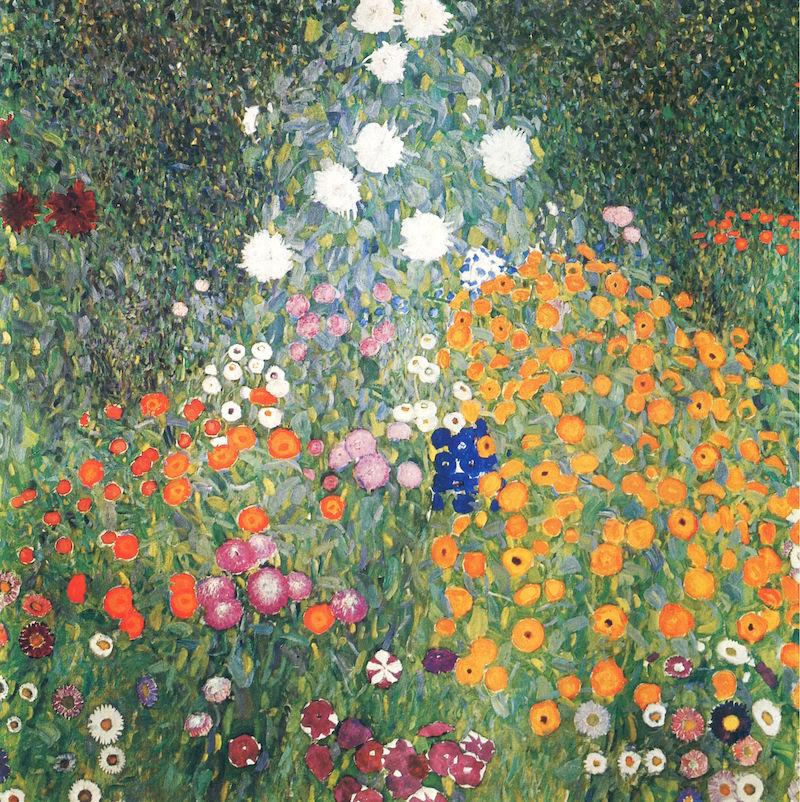 klimt flower garden