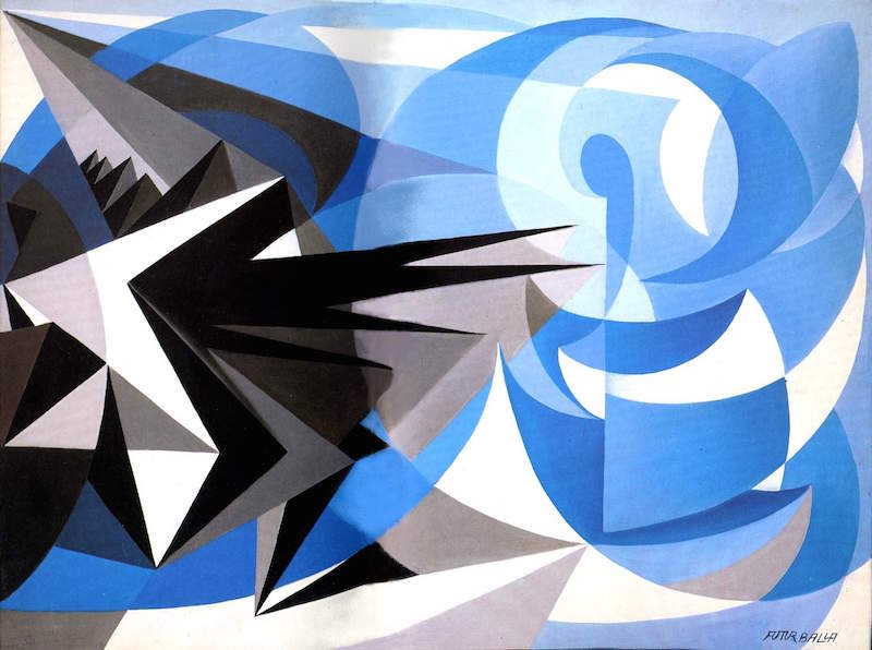 giacomo balla pessimism and optimism