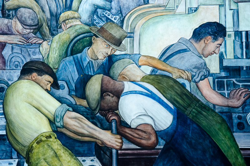 the laborer by diego rivera Land distribution by diego rivera  the city was an omportantxeligiousi} center filled with  a laborer or slave is identified by his simple loin cloth.