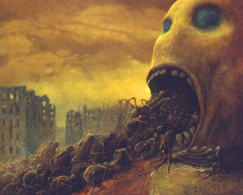 beksinski untitled