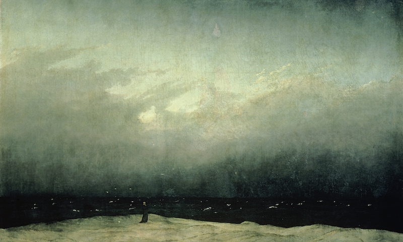 Monk by the Sea by Caspar David Friedrich
