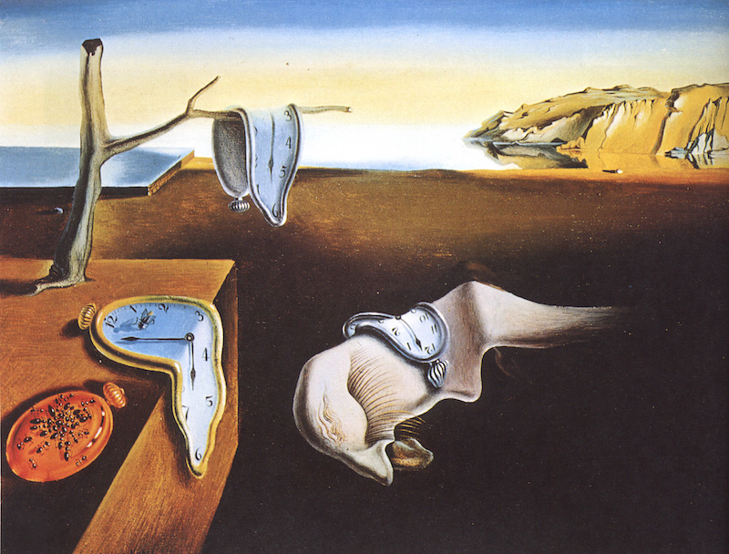 dali the persistenc of memory