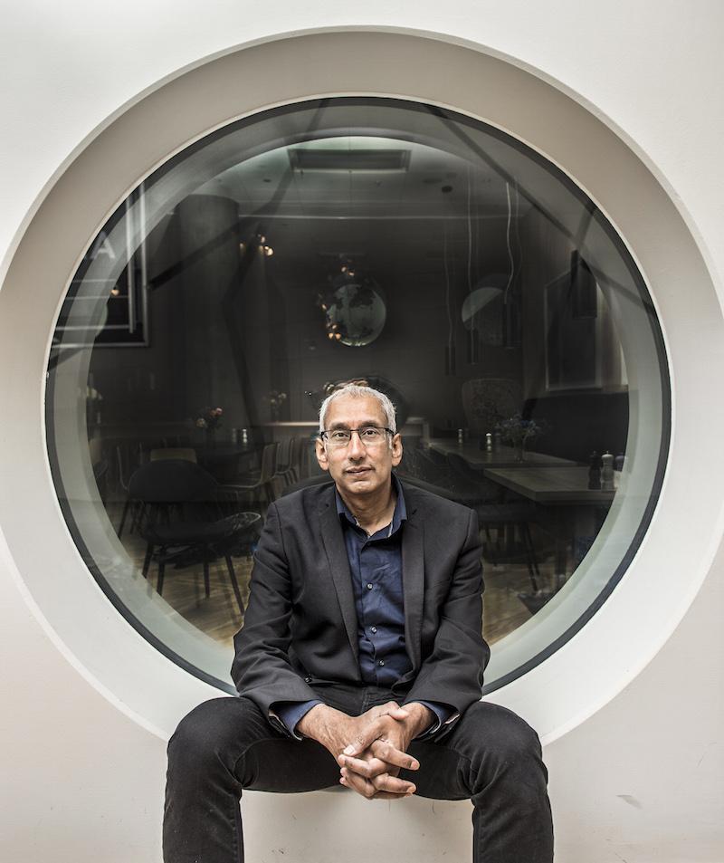 2015-11-11 Kenan Malik, forskare neurobiologiFoto: Lars Pehrson code 30152